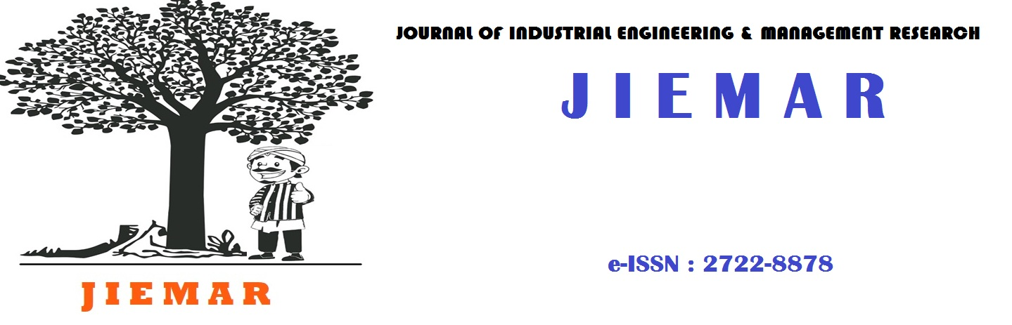 Journal of Industrial Engineering and Management Research JIEMAR